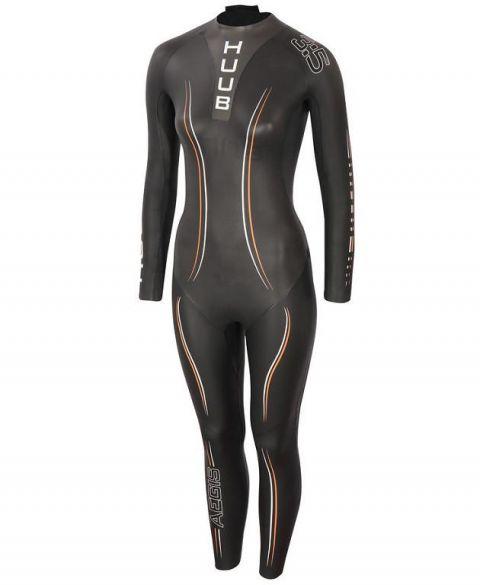 Huub Aegis II thermal 3:5 wetsuit zwart dames  AFT355W