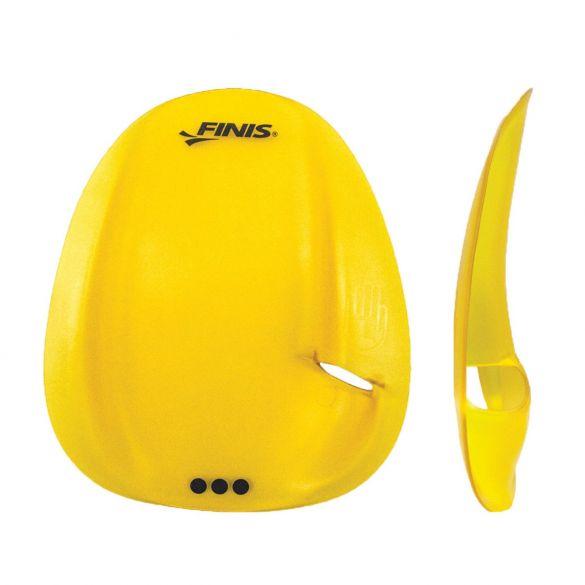Finis Agility handpeddels geel  1.05.145