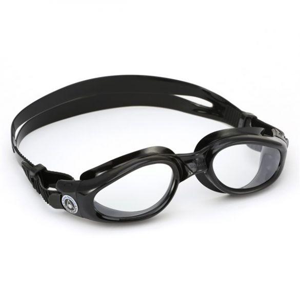 Aqua Sphere Kaiman transparante lens zwembril zwart  ASEP1150101LC
