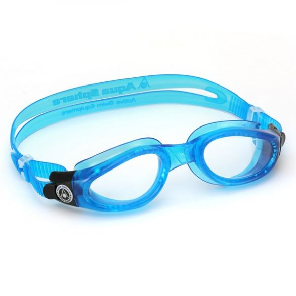 Aqua Sphere Kaiman transparante lens zwembril blauw  EP1154100LC