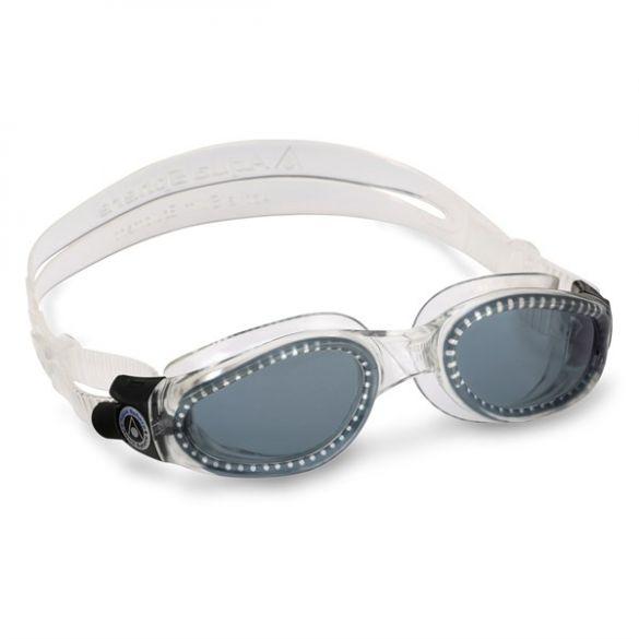 Aqua Sphere Kaiman donkere lens zwembril zilver  ASEP1150000LD