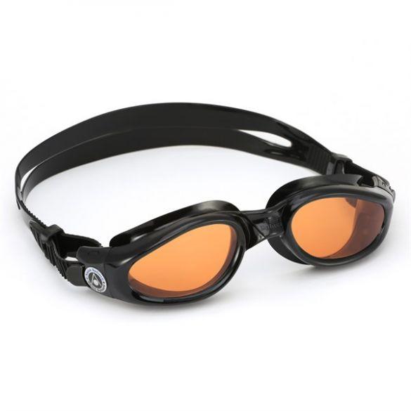 Aqua Sphere Kaiman oranje lens zwembril  EP1150101LA
