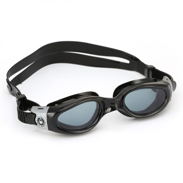 Aqua Sphere Kaiman donkere lens small fit zwembril zwart  ASEP1210101LD
