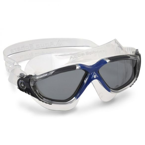 Aqua Sphere Vista donkere lens zwembril donkerblauw  ASMS1730012LD
