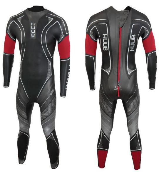 Huub Archimedes III 4:4 wetsuit zwart heren  ARCH44