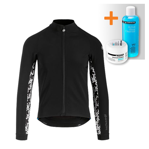 Assos Mille GT ultraz winter lange mouw jacket zwart heren  113034618