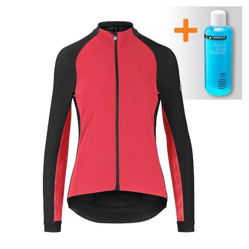 Assos Uma GT spring fall lange mouw jacket roze dames  123035271