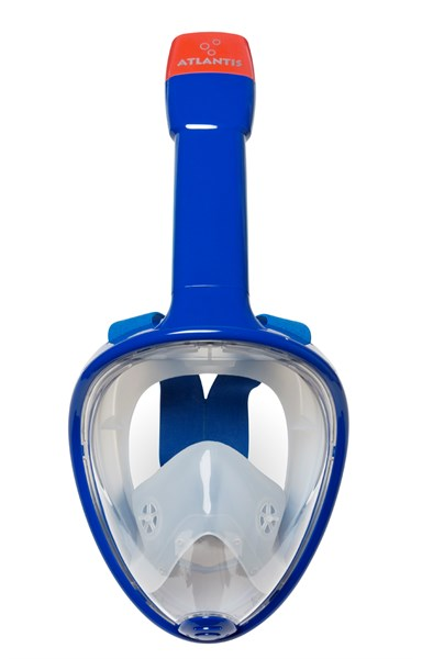 Atlantis Full face snorkelmasker blauw  AT0019