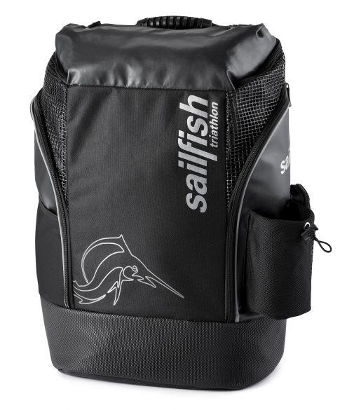 Sailfish Triathlon rugzak cape town 35 liter zwart/zilver  SL3005