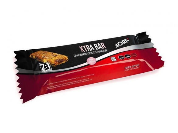 Born Xtra-bar Cranberry Cocos 15x48 gram  2001088