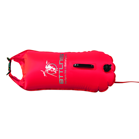 BTTLNS Saferswimmer zwemboei 28 liter Poseidon 1.0 rood  0120009-003