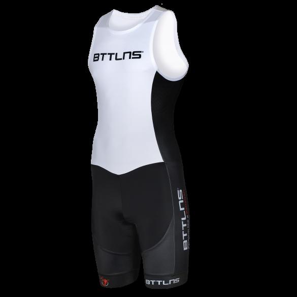 BTTLNS Gods ITU trisuit mouwloos wit Nemesis 1.0  0219006-101