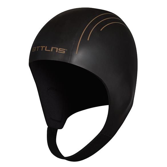 BTTLNS Neopreen Swim cap Khione 1.0 zwart/goud  0121011-087