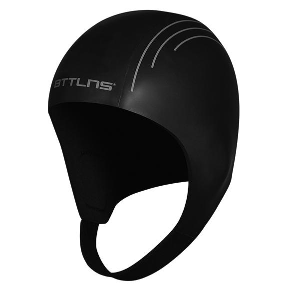 BTTLNS Neopreen Swim cap Khione 1.0 zwart  0120010-010