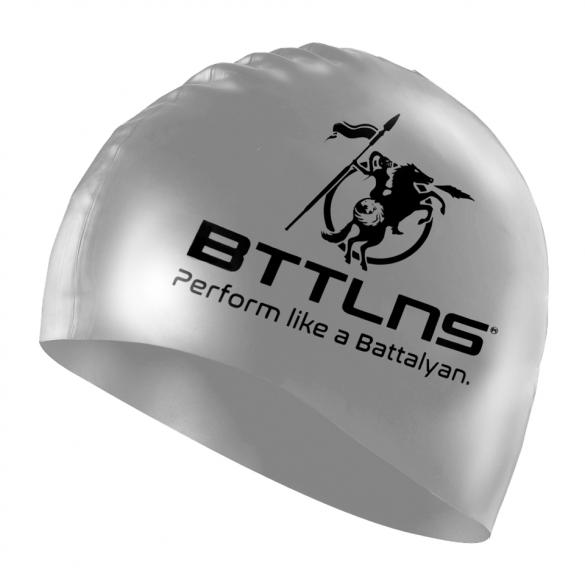 BTTLNS Siliconen badmuts prestige zilver Absorber 2.0  0318005-097