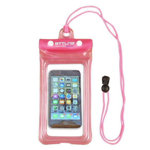BTTLNS Endymion 1.0 drijvende waterdichte telefoonhoes roze  0620001-072