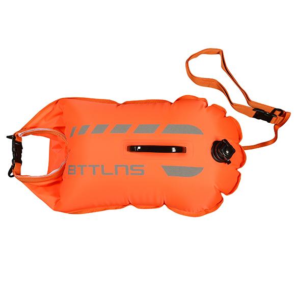 BTTLNS Amphitrite 1.0 saferswimmer zwemboei 20 liter oranje  06200020-034