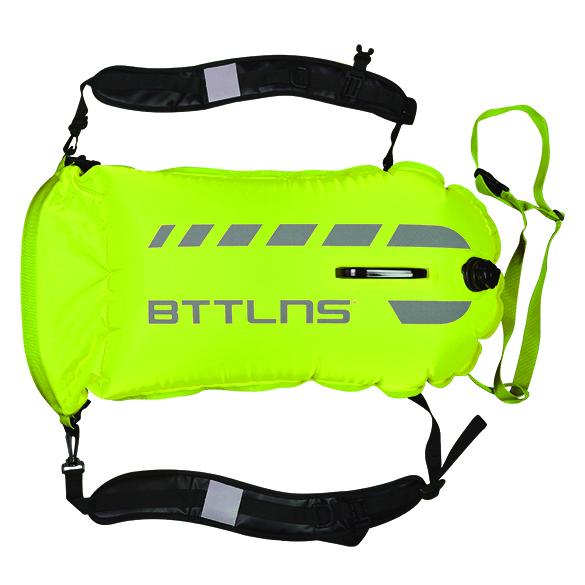 BTTLNS Tethys 1.0 safeswimmer zwemboei 35 liter groen  06200035-044