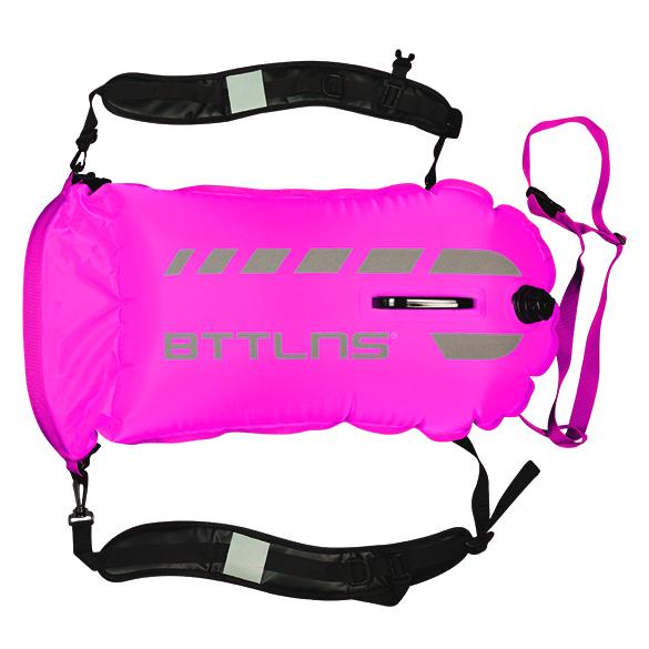 BTTLNS Tethys 1.0 safeswimmer zwemboei 35 liter roze  06200035-072
