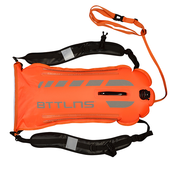 BTTLNS Saferswimmer veiligheid verlichte zwemboei Scamander 2.0 oranje  0520003-034