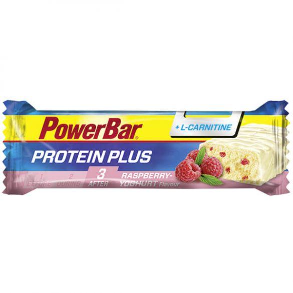 Powerbar Protein plus L-Carnitine bar framboos yoghurt 30 x 35 gram  3309