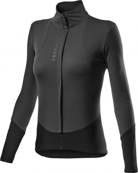 Castelli Beta RoS W fietsjack zwart dames  20558-030