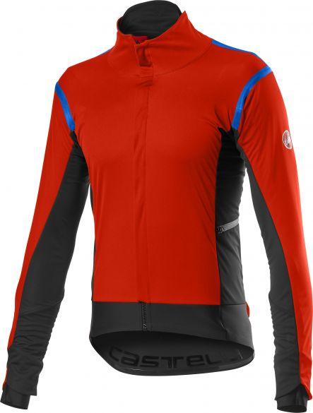 Castelli Alpha RoS 2 fietsjack rood heren  20502-656