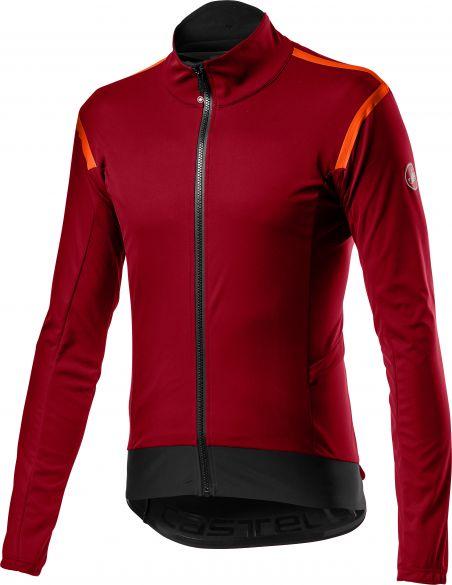 Castelli Alpha RoS 2 light fietsjack donker rood heren  20503-622