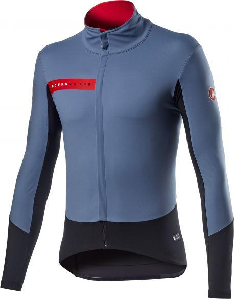 Castelli Beta RoS fietsjack blauw heren  20505-062