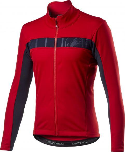 Castelli Motrirolo VI fietsjack rood heren  20506-023