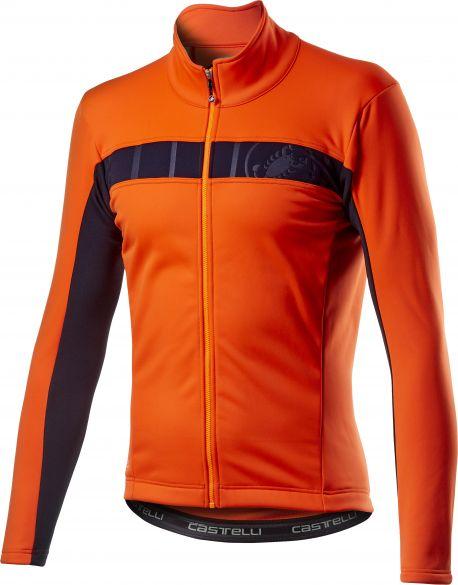 Castelli Motrirolo VI fietsjack oranje heren  20506-034