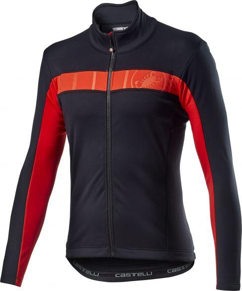 Castelli Motrirolo VI fietsjack zwart heren  20506-085