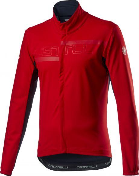 Castelli Transition 2 fietsjack rood heren  20507-023