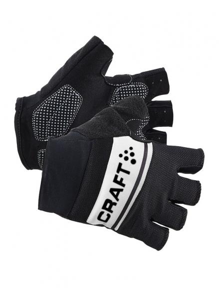 Craft Classic fietshandschoenen zwart/wit heren  1903304-9900