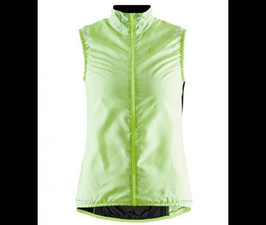 Craft Essence Light Wind mouwloos fietsvest geel dames  1908793-851000