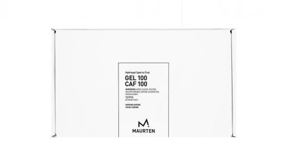 Maurten Gel100 CAF box 12x40 gram  MAGEL100CAF