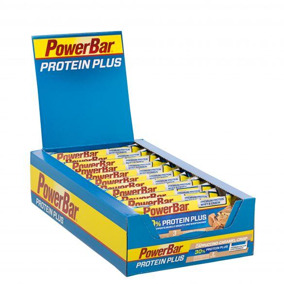 Powerbar Protein plus 30% bar cappuccino 15 x 55 gram  3252