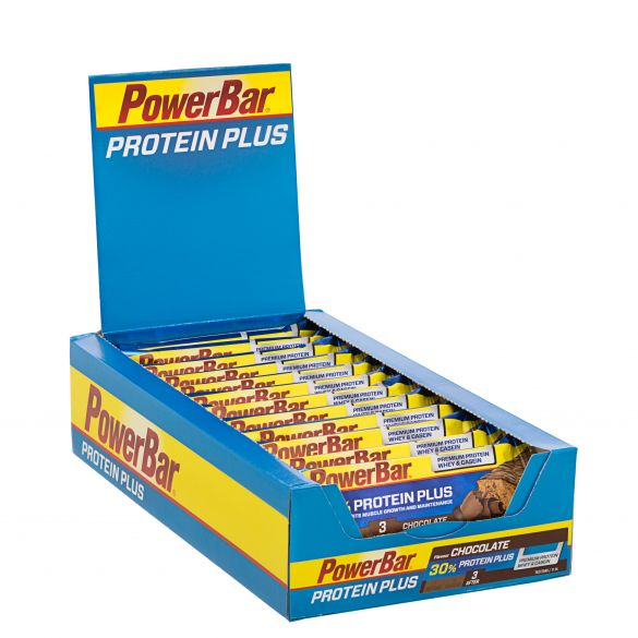 Powerbar Protein plus 30% bar chocolade 15 x 55 gram  3251
