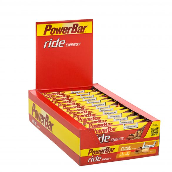 Powerbar Ride energy bar pinda caramel 18 x 55 gram  3460