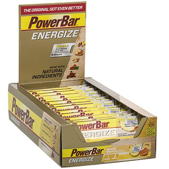 Powerbar Energize bar energiereep mango 25 x 55 gram  3203