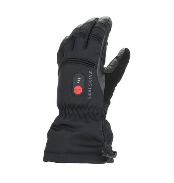 SealSkinz Extreme cold weather verwarmde handschoenen zwart  12100061-0001
