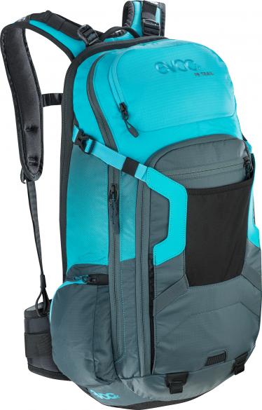 Evoc FR trail 20 liter rugzak slate-neon blue  100102225
