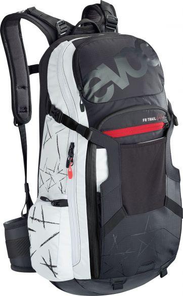 Evoc FR Trail unlimited 20 liter rugzak zwart/wit  100103105