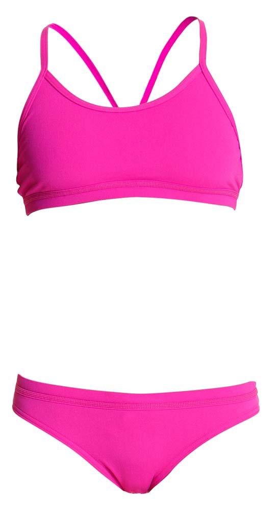 Funkita Still roze Sports bikini set dames  FS02L00471+FS03L00471