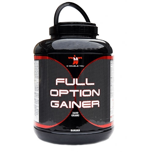 M Double You Full Option Gainer 3600 gram  2012