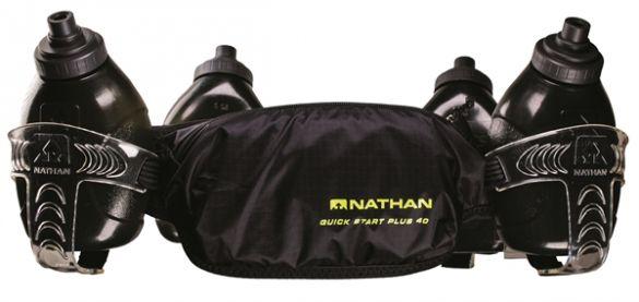 Nathan QuickStart plus 40 drinkgordel zwart  00974944