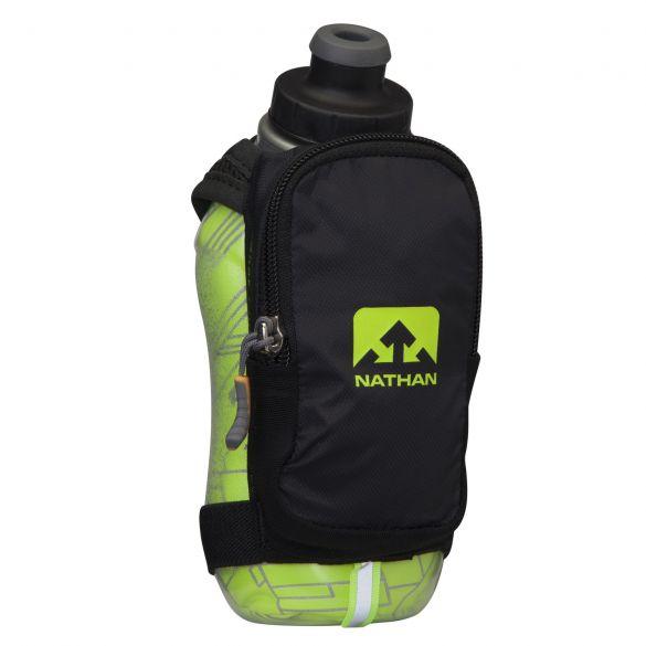 Nathan SpeedShot plus insulated drinkfles groen/zwart  00975668