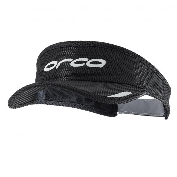 Orca Hardloop visor zwart  HVAM01