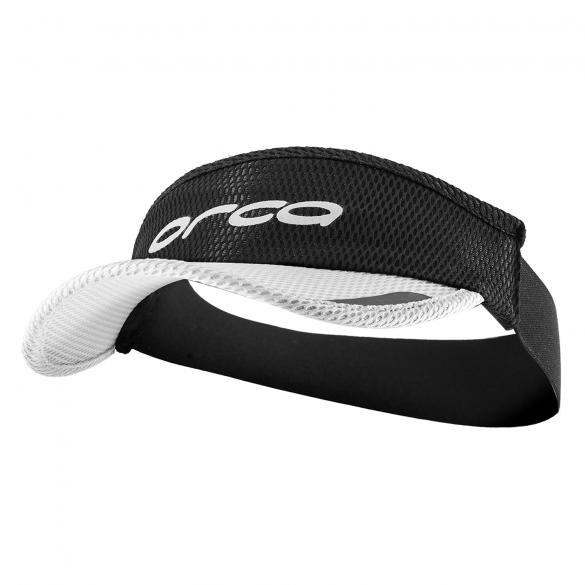 Orca Hardloop visor Flexi-Fit zwart/wit  HVAY00