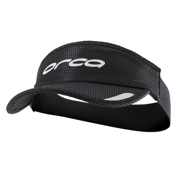 Orca Hardloop visor Flexi-Fit zwart  HVAY01